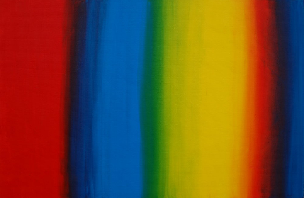 """Spectrum"", Oil on Canvas, 36''x24'', SOLD"