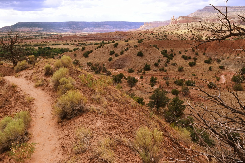 Ghost Ranch Pathway Color