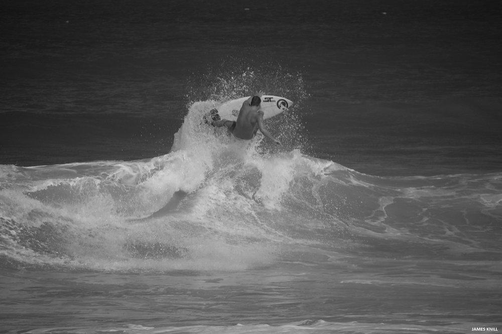 Surfer: Evan Miller. Location: Martin County, Florida