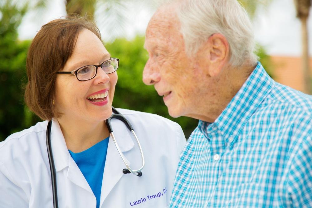 Dr. Laurie A. Troup home visit