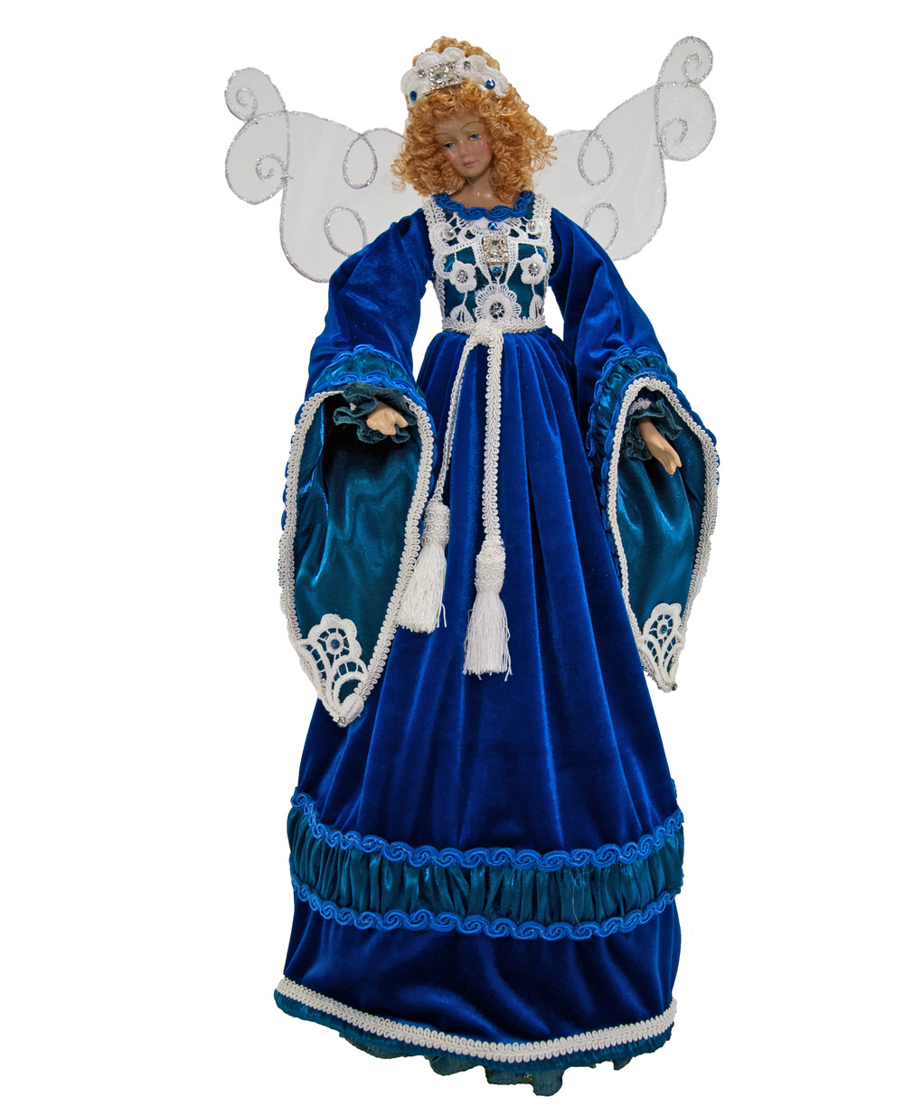 Azure Angel Tree Topper   R-11-540190