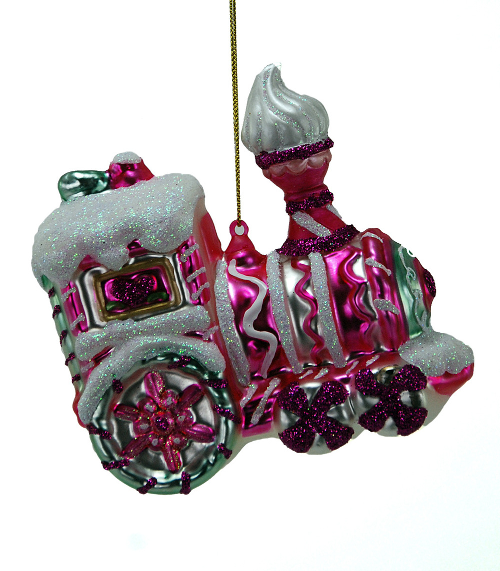 Candy Christmas Train Ornament  22-524716