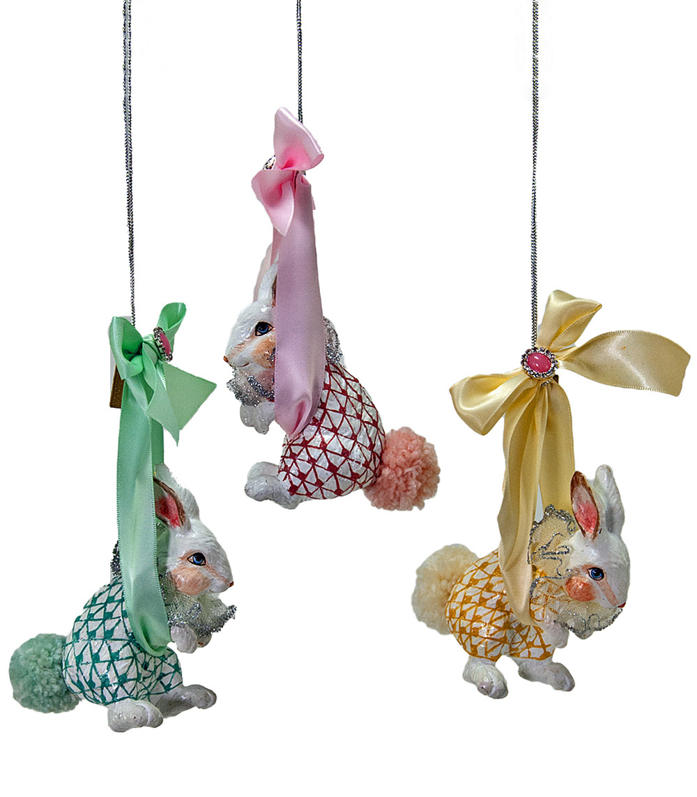 Bundle Of Joy Ornament - Assortment Of 3  28-530439