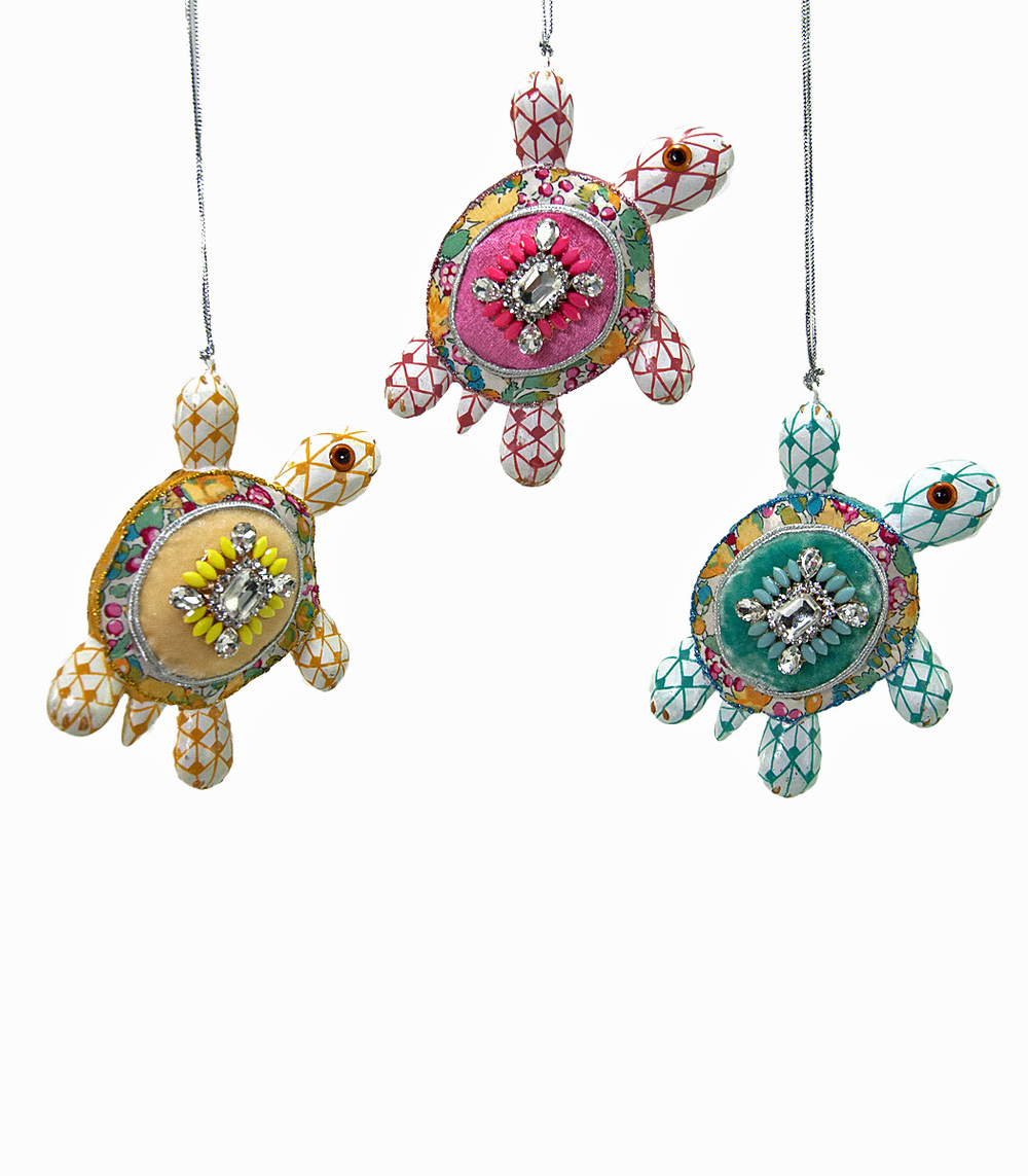 Pirouette Turtle Ornament - Assortment Of 3  28-530615