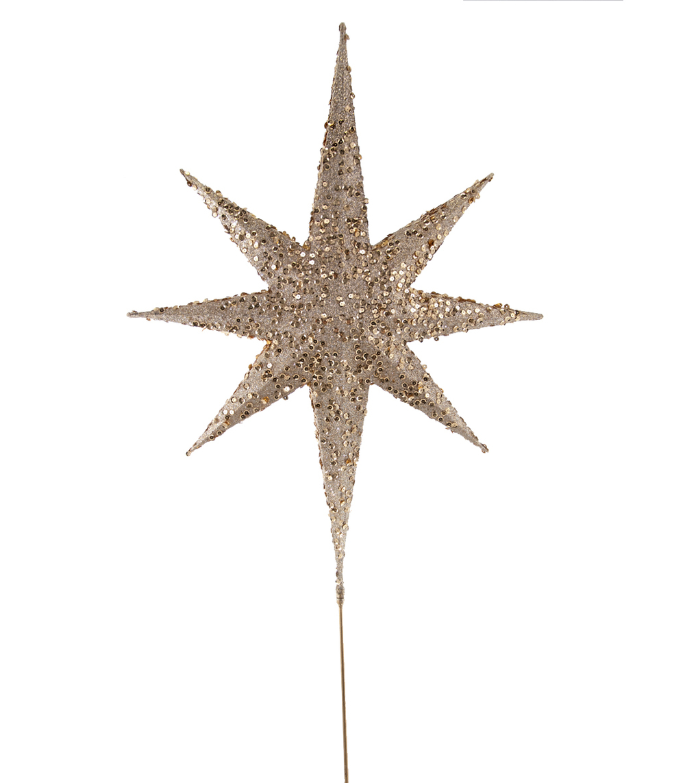 Large Star Tree Topper  18-645015