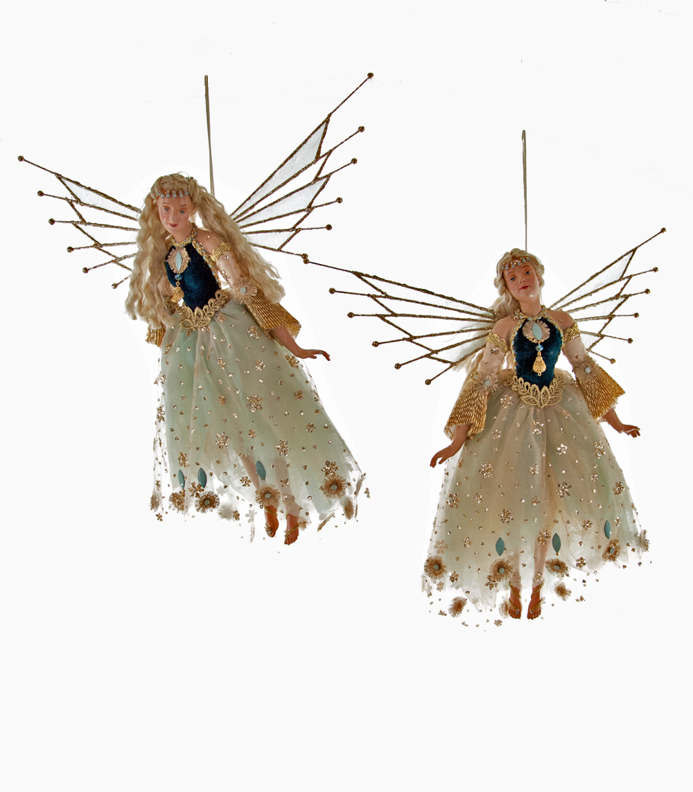Poseable Fairy Doll Assortment Of 2  28-628053
