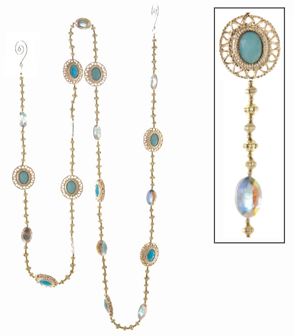 Celestial Turquoise Garland  09-692006