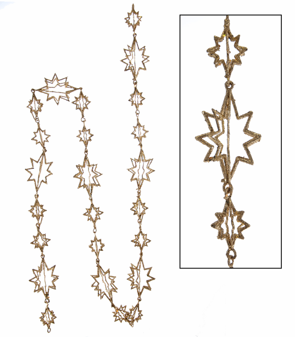 Gold Star Garland  18-642013