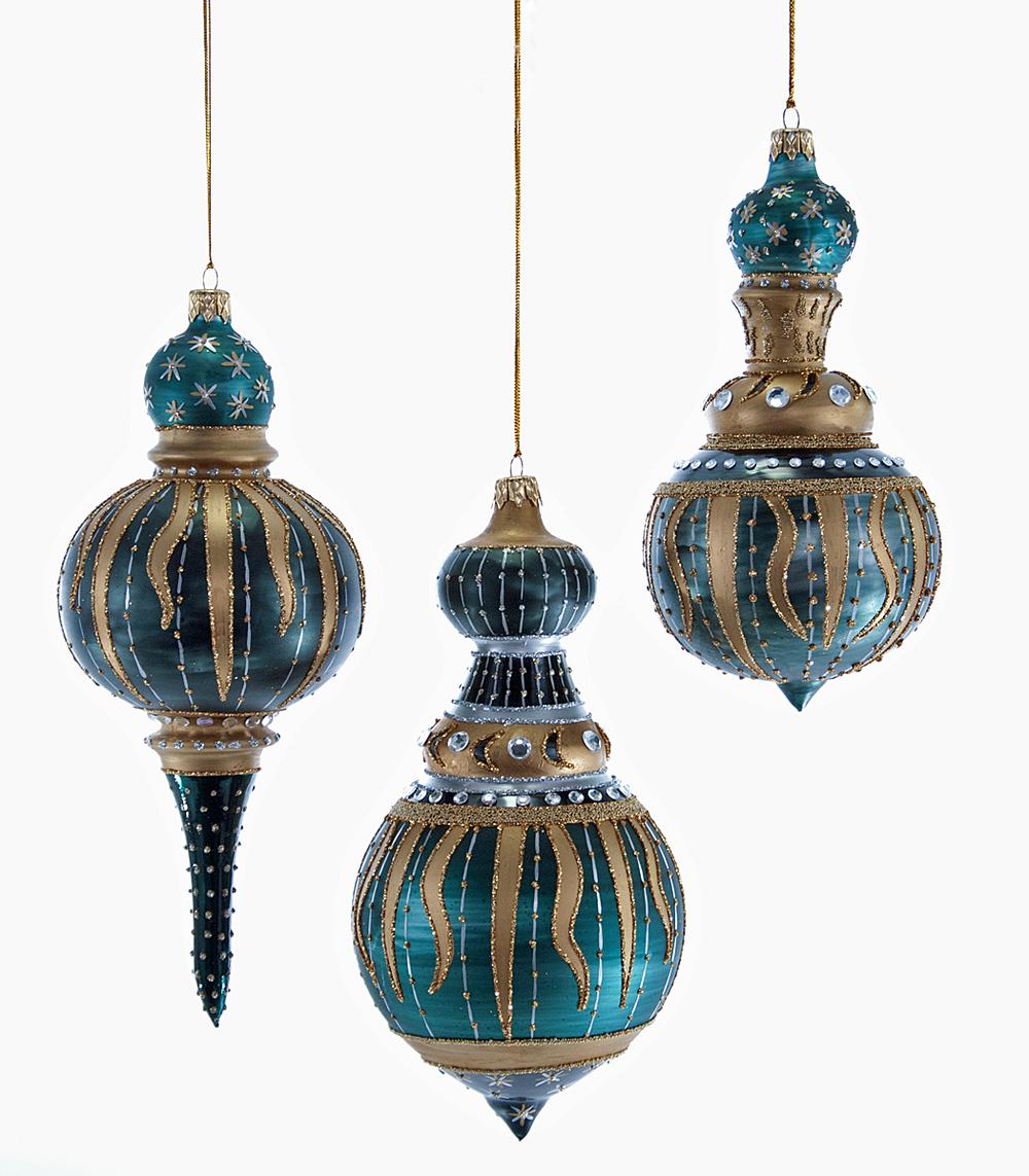 Celestial Cupola Ornament Assortment Of 3  02-631004