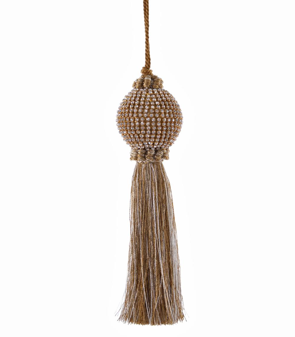 Gilded Rhinestone Tassel-Small  02-632008