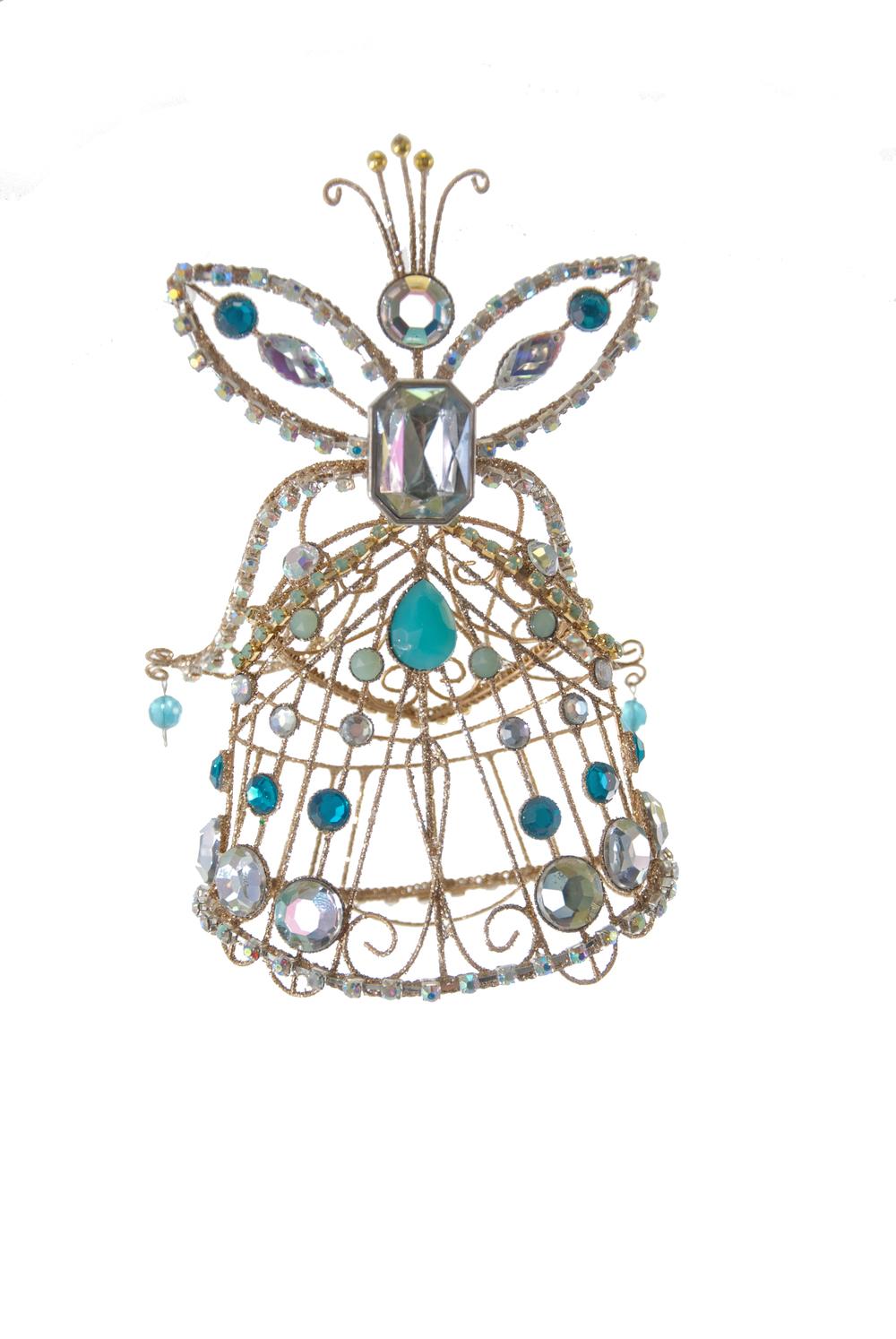 Wire Fairy Ornament  08-683021