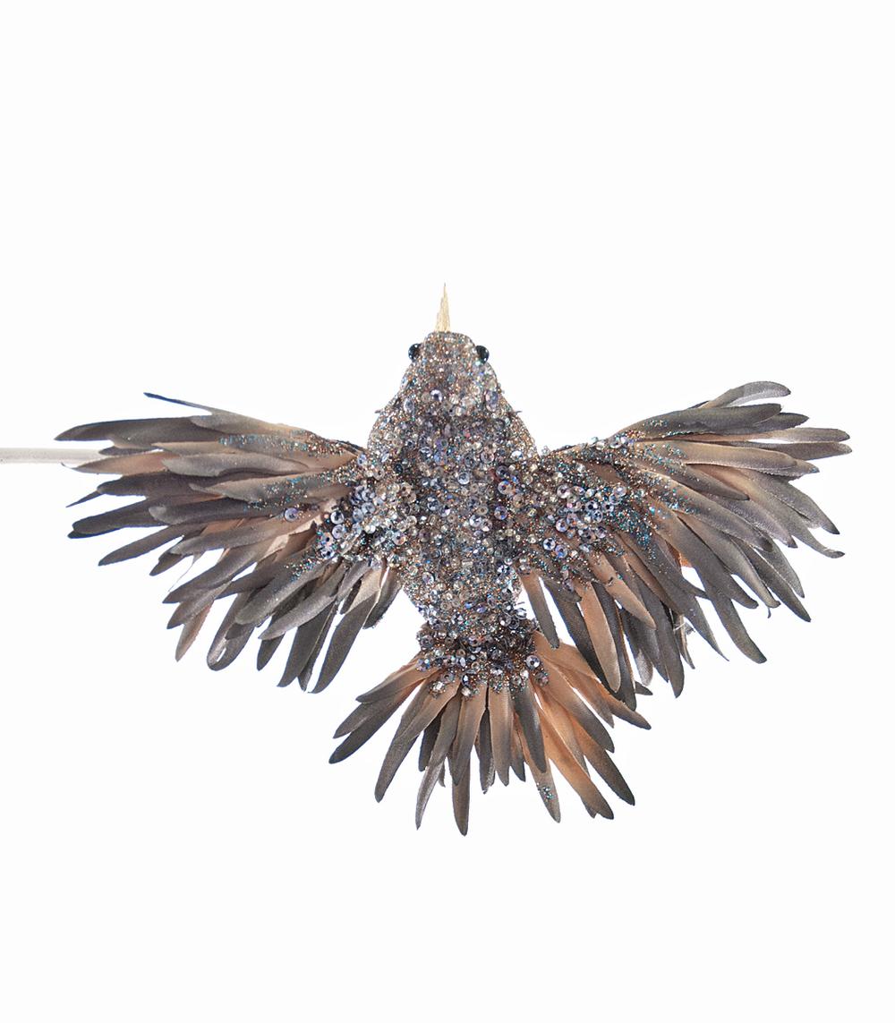 Fire Bird Clip-Blue Gray  08-685030