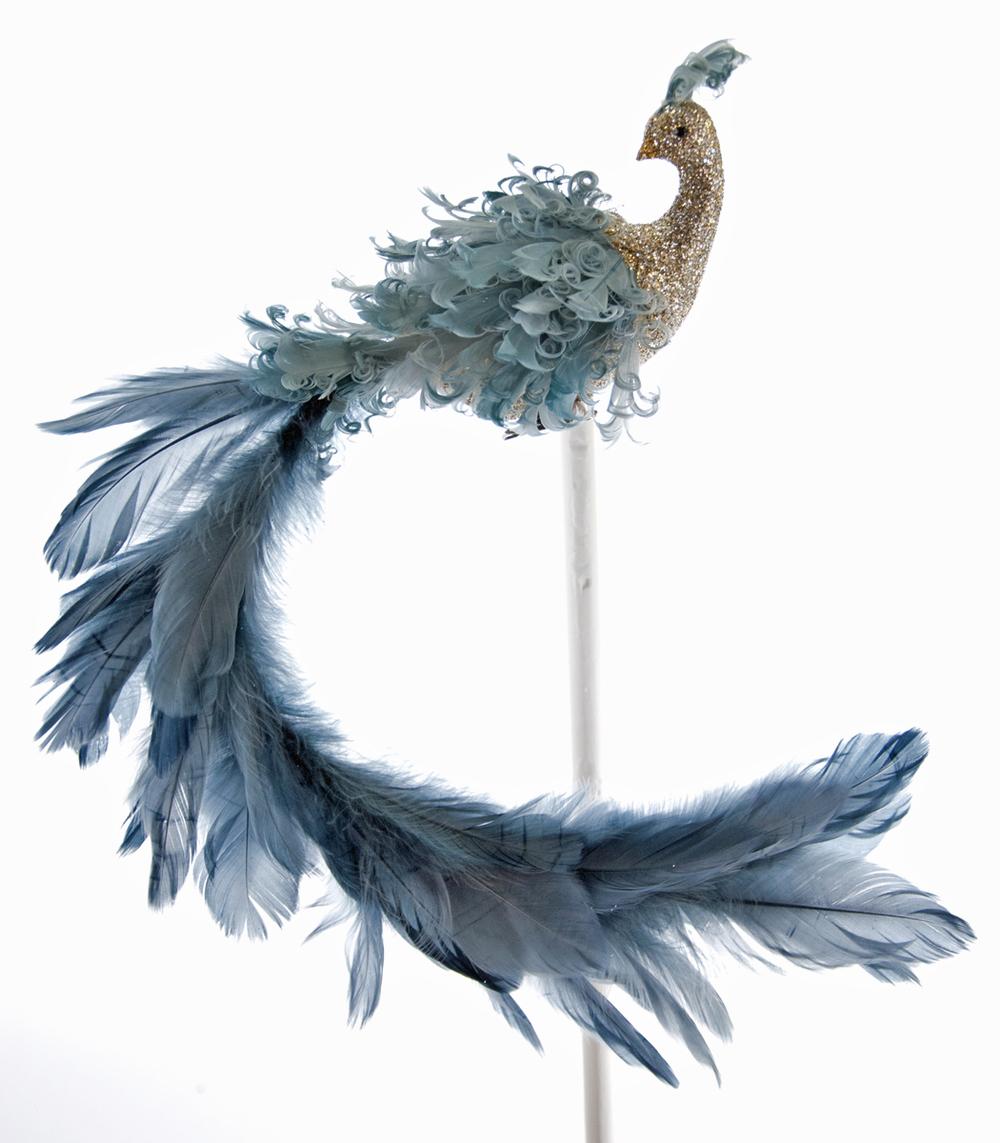 Celestial Long Tail Bird W/Clip  18-648002