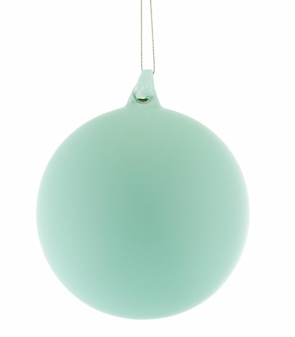 Porcelain Blue Glass Ball  18-649031