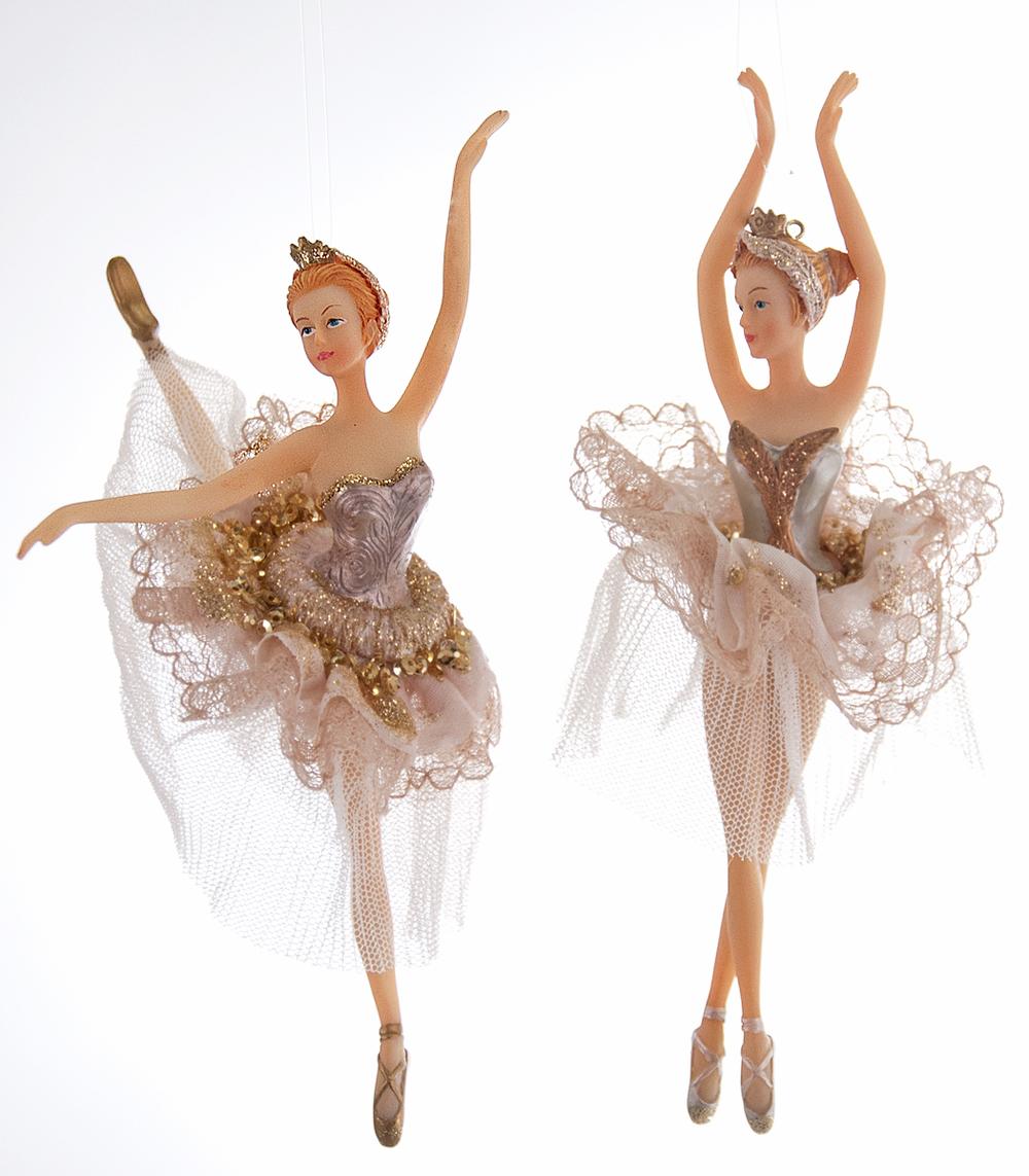 Celestial Ballerina Ornament Assortment Of 2  22-622099