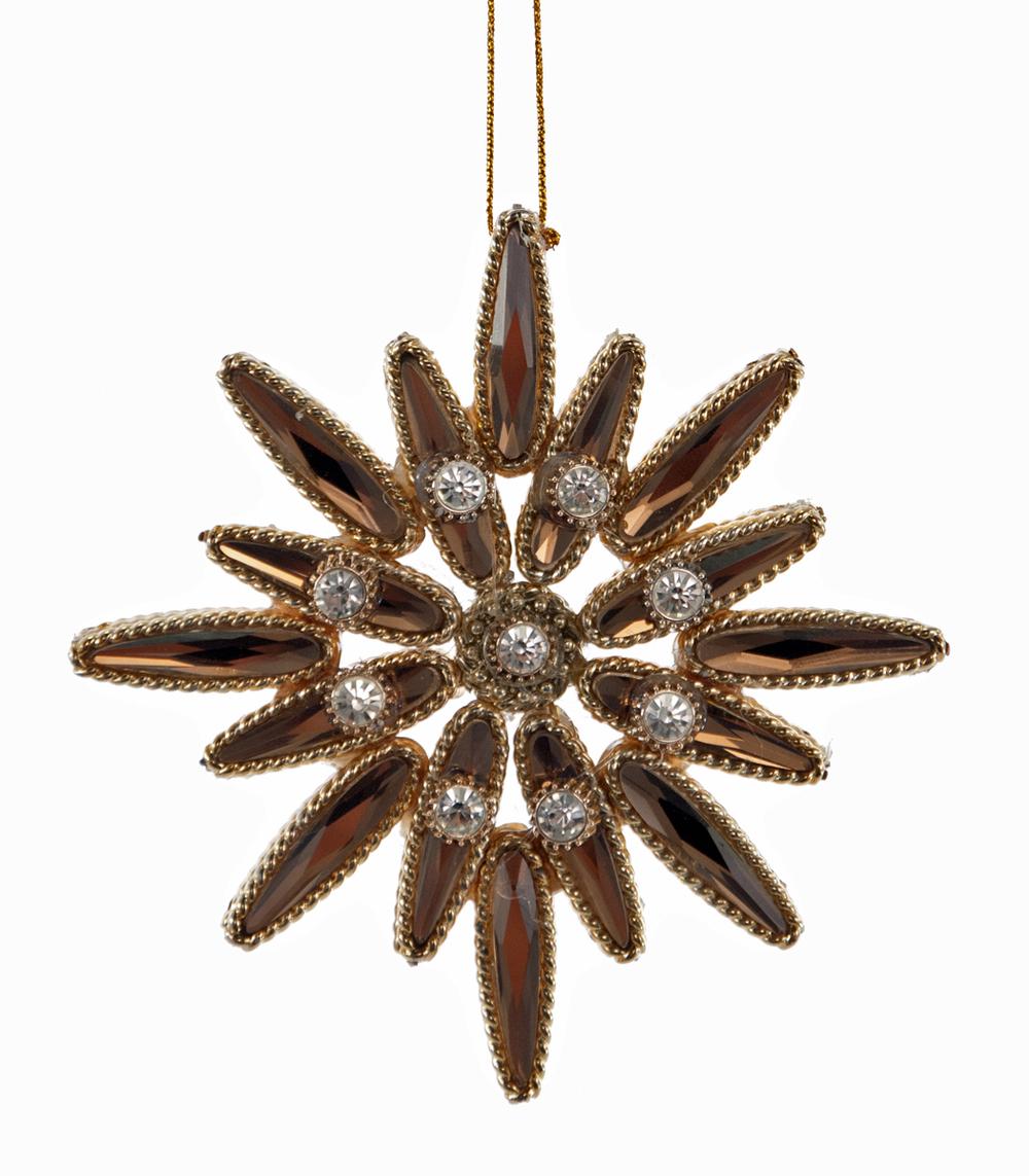 Crystal Star Ornament  24-624007