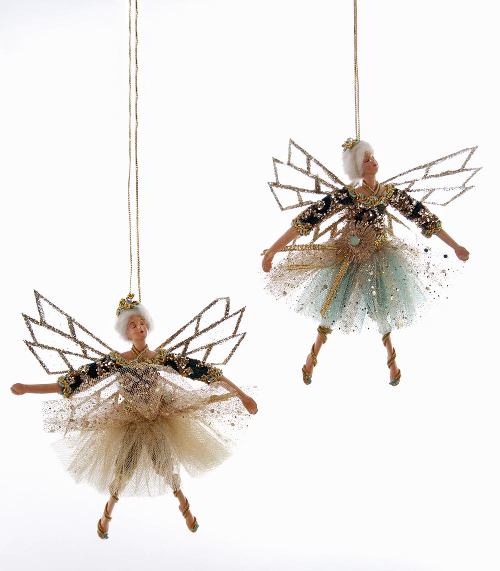 Euro Fairy Ornament - Assortment Of 2  28-628279