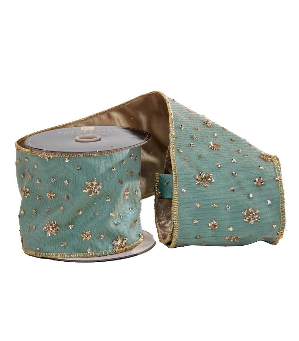 Glitter Star Ribbon-5 Yards  08-682057
