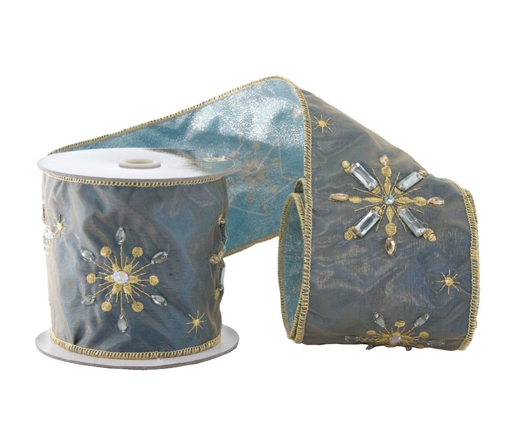 Jeweled Star Ribbon-5 Yards  08-682060