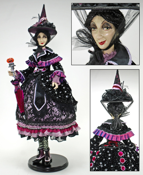 Midnight Magic witch doll