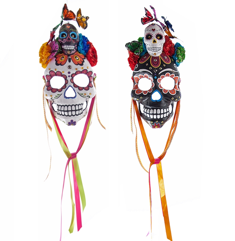 Elaborate Skull Masks from Frida Love