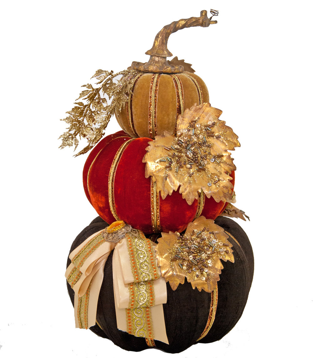 Autumn Pumpkin Stack 28-530595