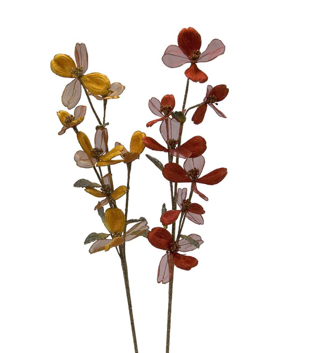 Red and Yellow Floral Stems 11-540156