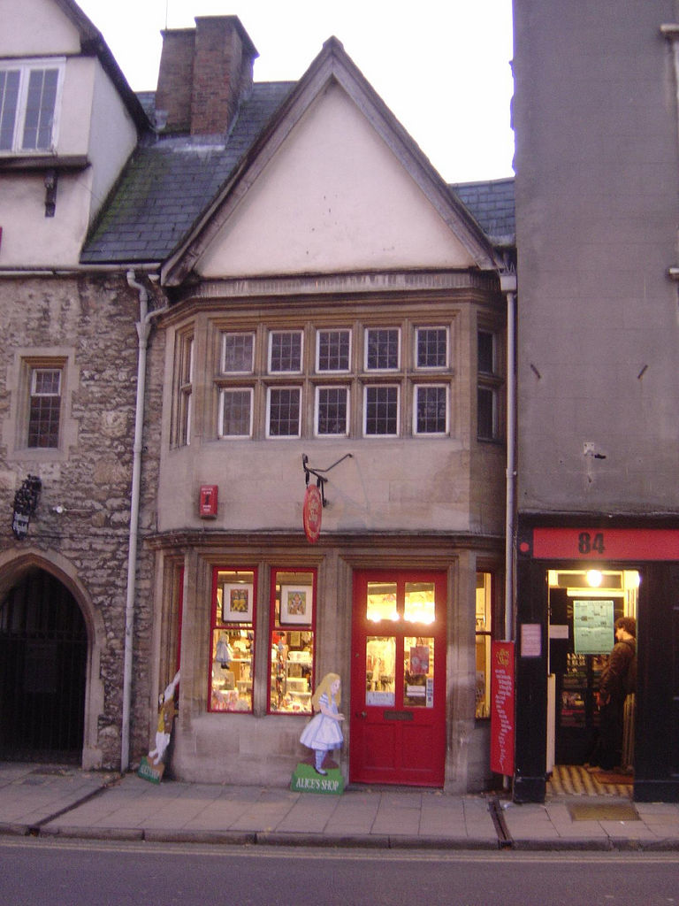 Alice's Shop in Oxford, England