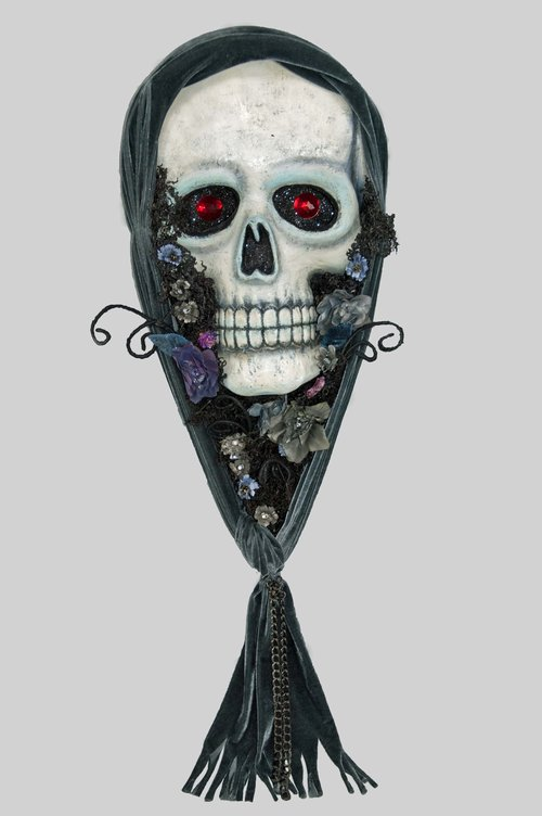 Skull Wall Mask - 44 inches 28-728583