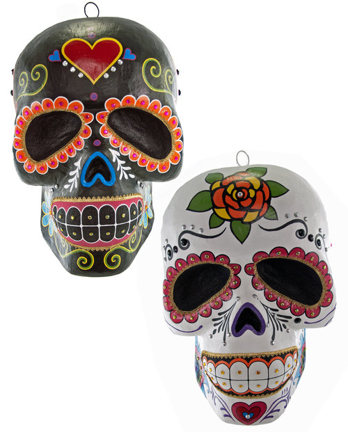Display Skull Assortment of 2 28-628292