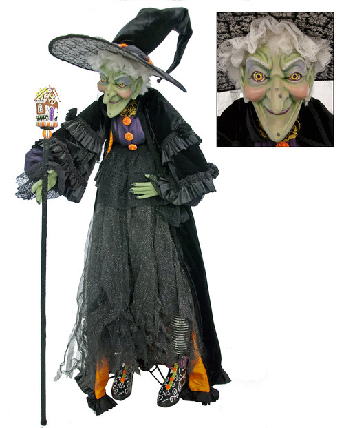 Greta Witch Doll - Lifesize 28-628067