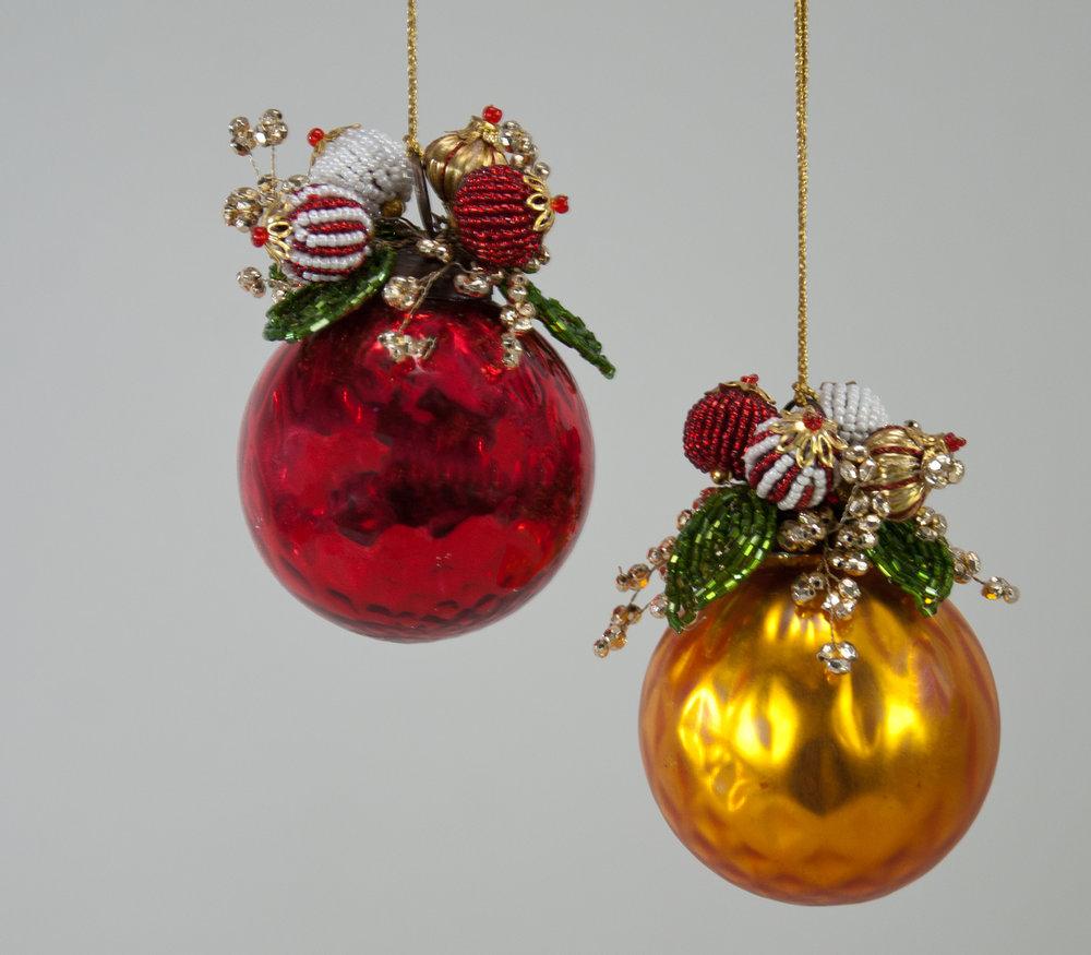 Shiny Glass Ball Ornament