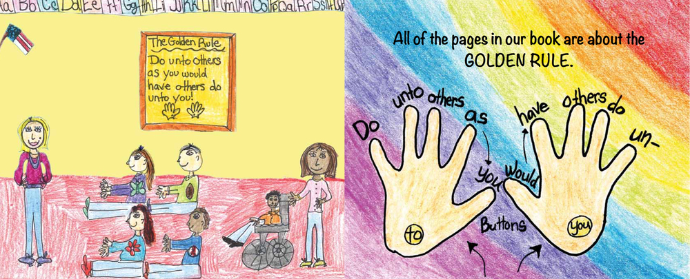 This book was created by children for children.