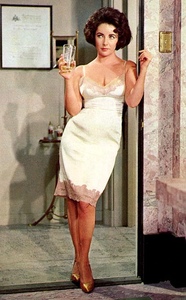 This weeks lingerie inspiration    Elizabeth Taylor in Butterfield 8
