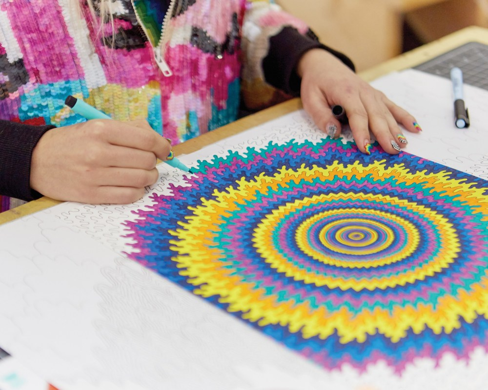 Electrify: Jen Stark's Colors of Consciousness