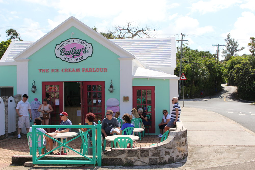 bermuda bailey's ice cream