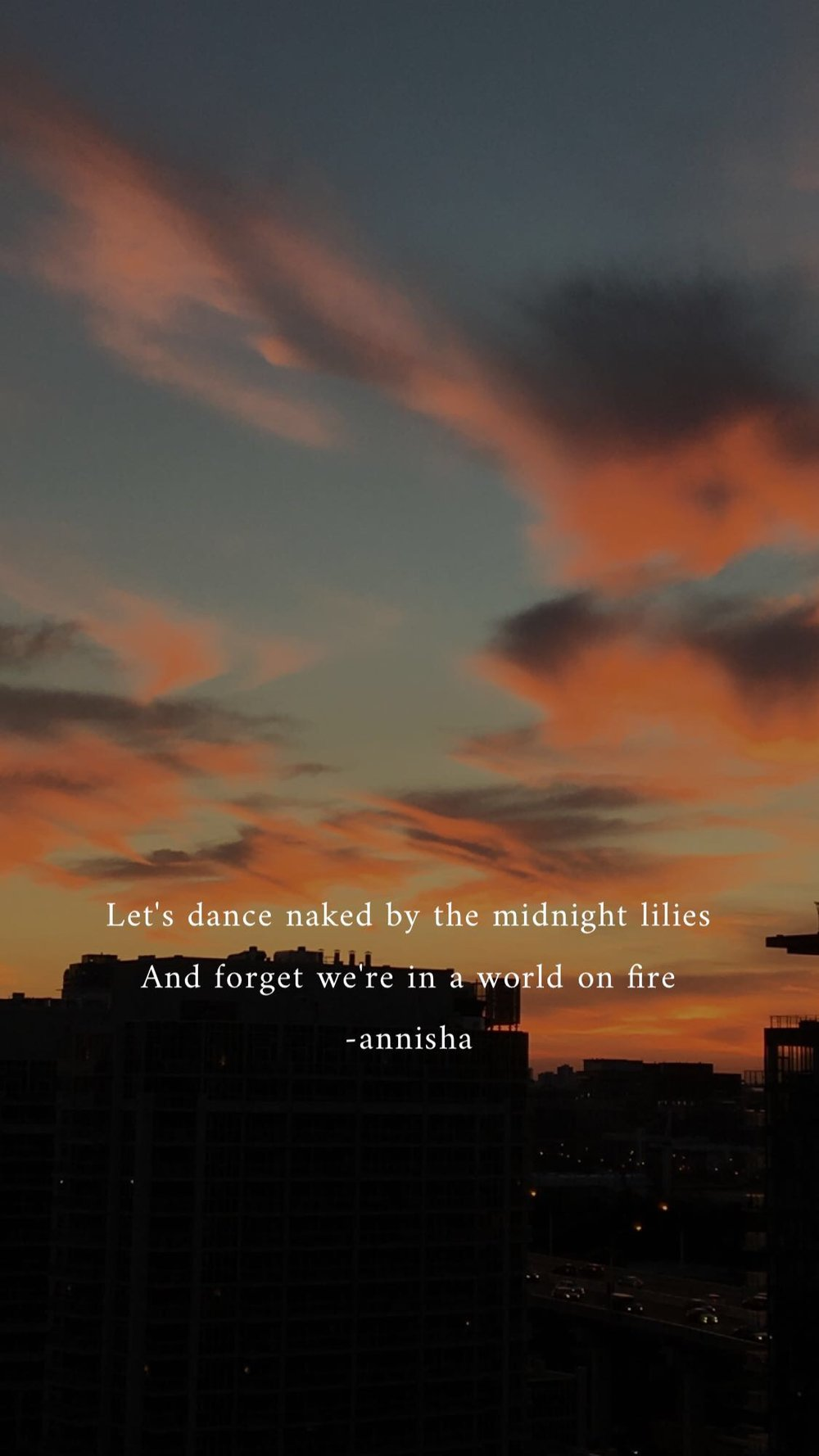 Poetry by Annisha Lashand