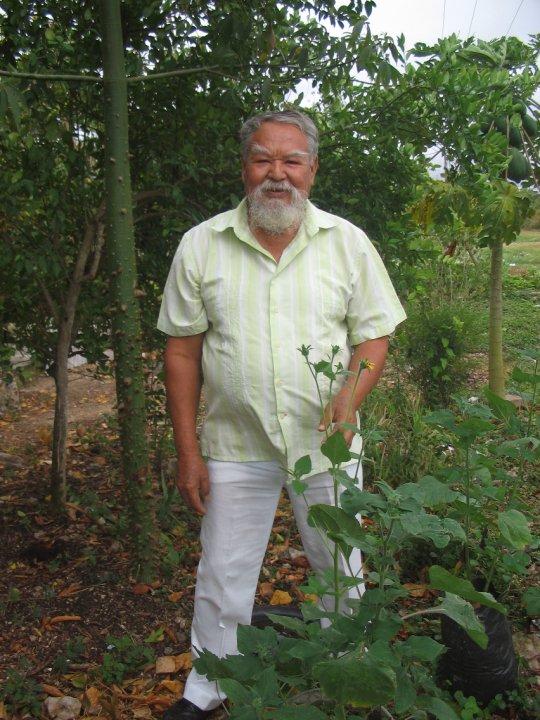 Professor Morales of Mayan Medicinal Plants Bacalar, Mexico 2010.jpg