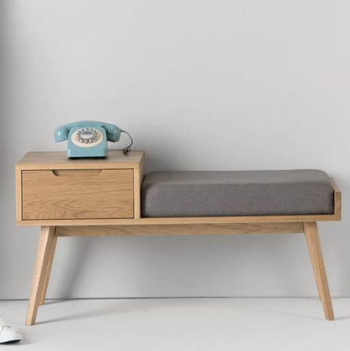 Jenson Storage Bench by MADE studio  //