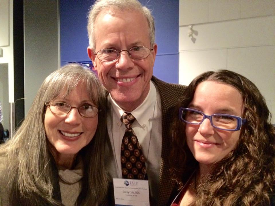 Teri with Dr. & Mrs. Cole at the International Affiliation of Tongue-Tie Professionals conference