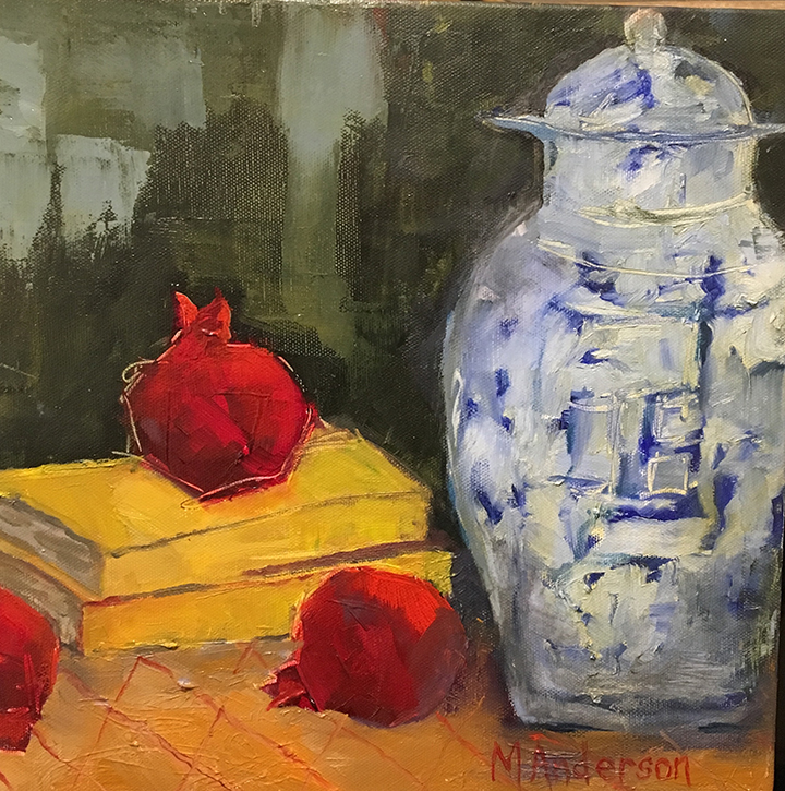 Blue Vase With Pomegranates.jpg