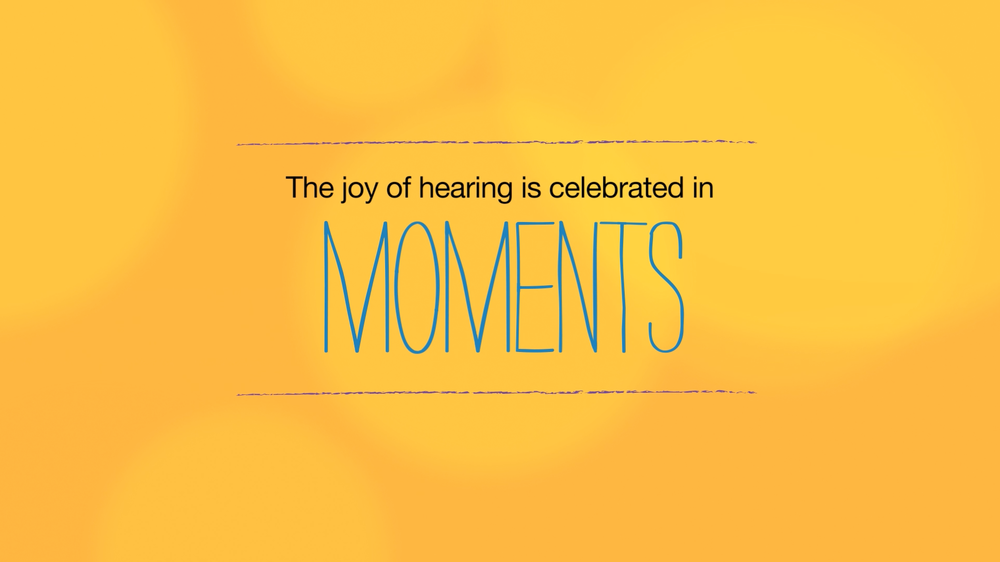 GN Resound Moments Campaign: Campaign Branding