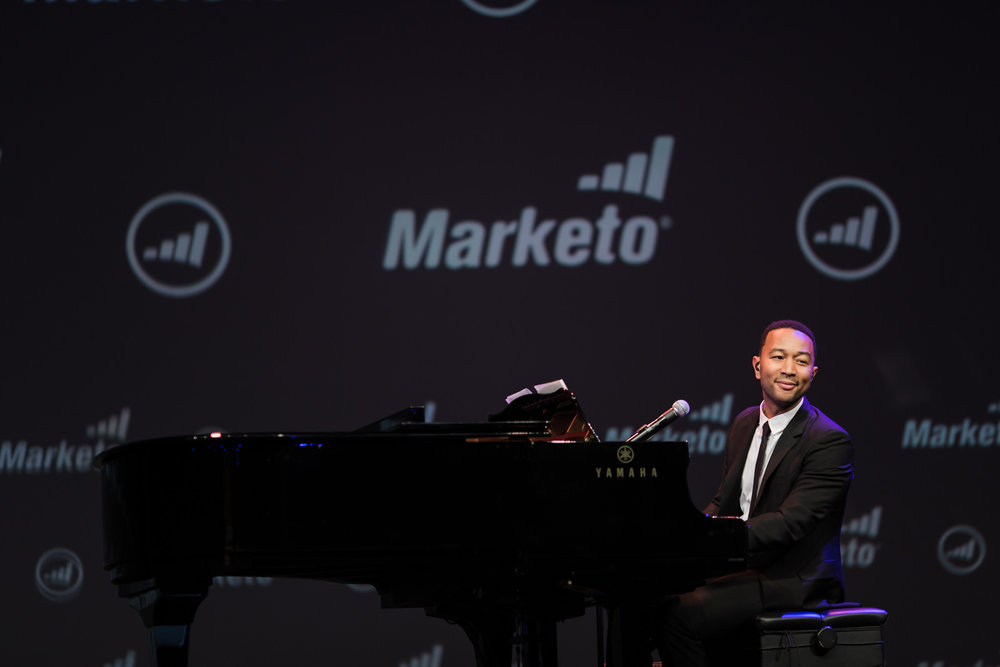 Performance by John Legend