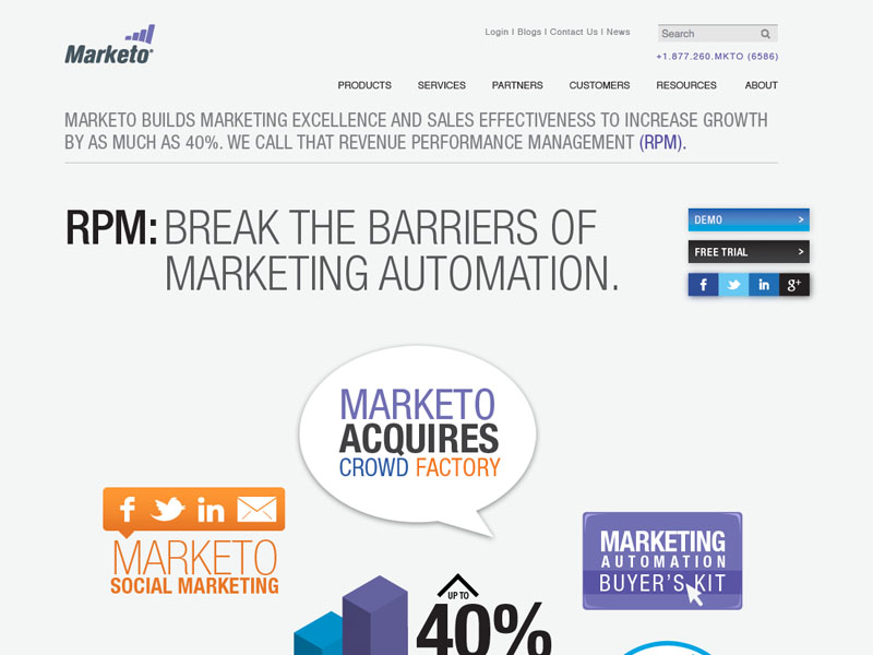 Marketo - Website