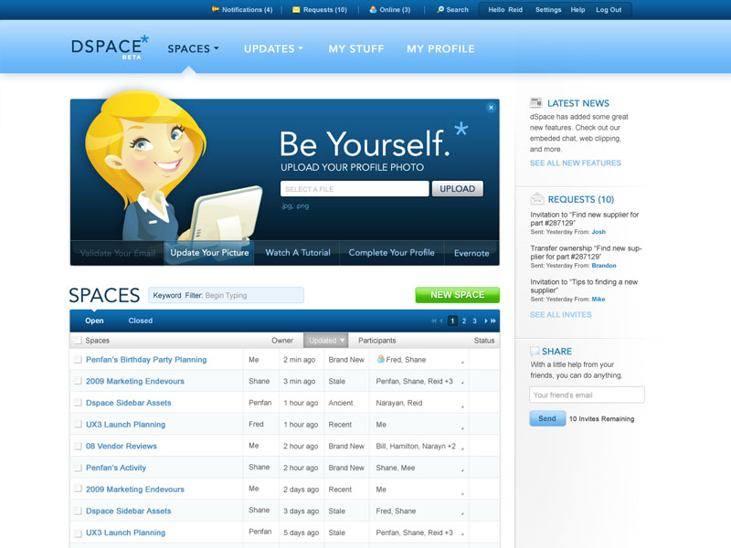 SAP - DSPACE