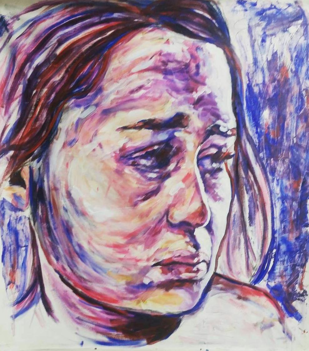 Enola Gay, Oil on Canvas