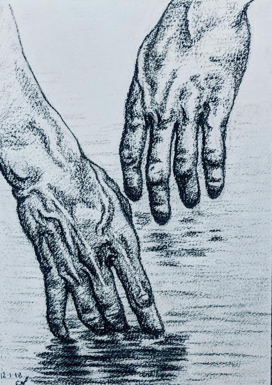 Hands in Water