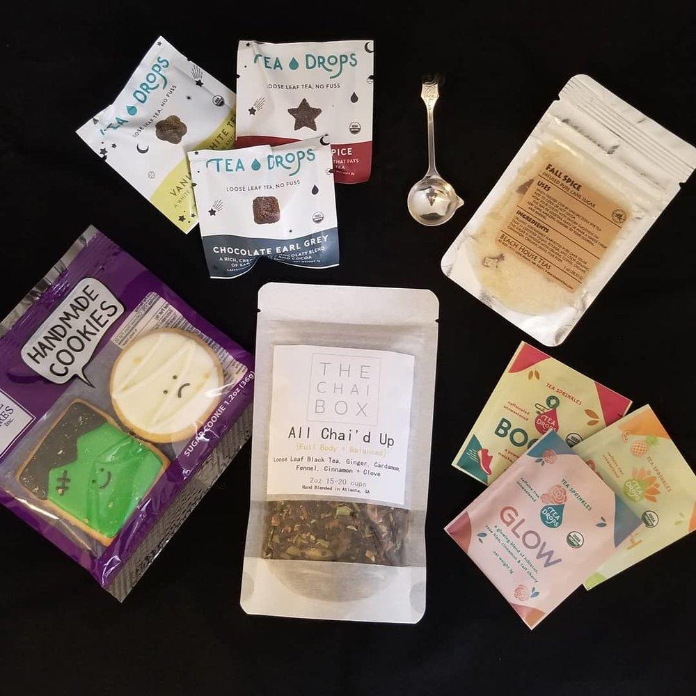 Tea Box Express - October 2018 Monthly Box
