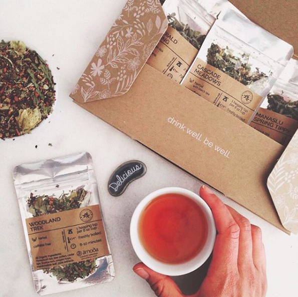 Amoda Tea - September 2019 Monthly Box
