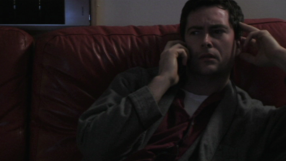 Clay Adams plays Ralph, a concerned older brother